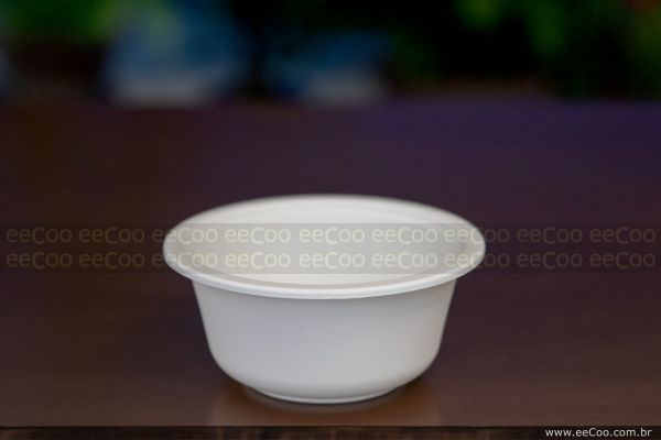 Bowl Sem Tampa 450 Ml Biodegradavel Eecoo (1) - eeCoo sustentabilidade - Tigela 450ml biodegradável